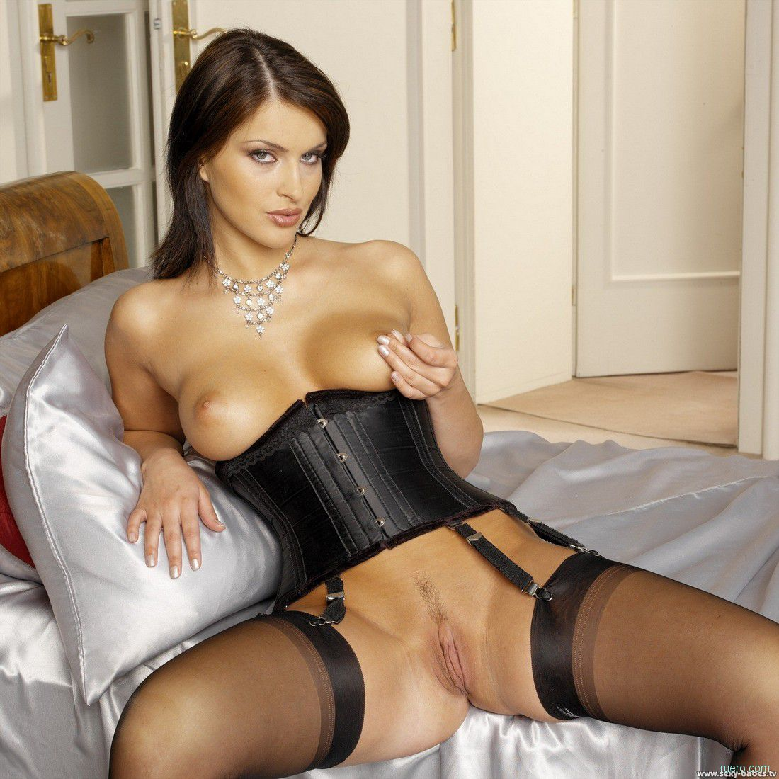 Free asian, corset pictures
