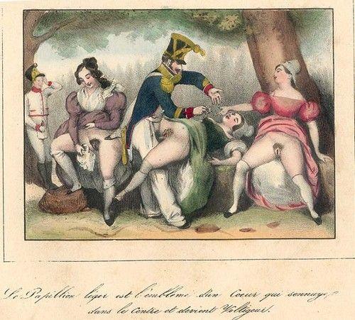 Разврат во французском дворце